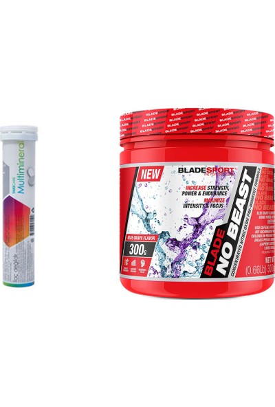 Blade Sport No Beast 300 gr + M.Vitamin