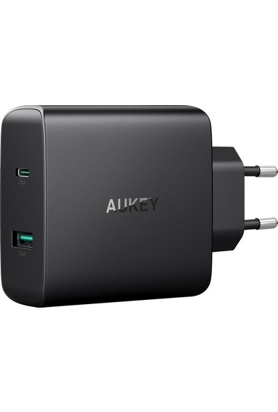 Aukey USB-C Charger with 56.5W USB-C Power Delivery