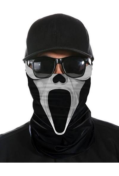 Bandanax Çığlık Maskesi Bandana