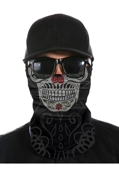 Bandanax Tattoo Skull Bandana
