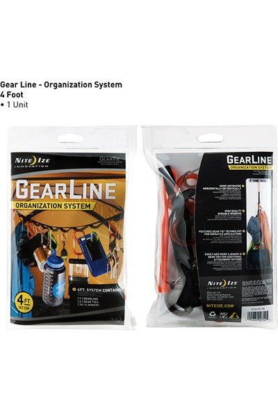 Gearline Organizasyon Sistemi 122 cm