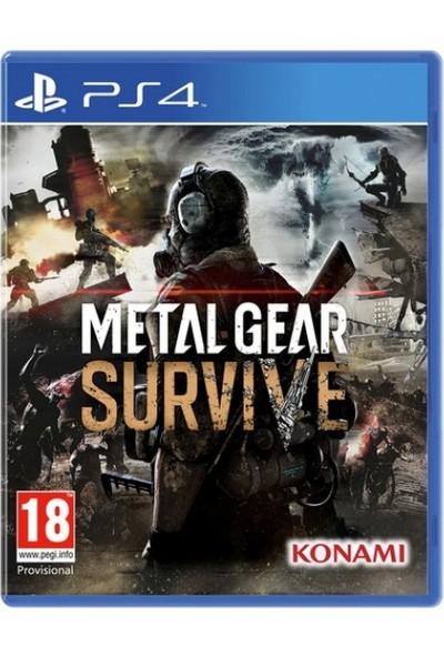 Metal Gear Survive PS4 Oyun