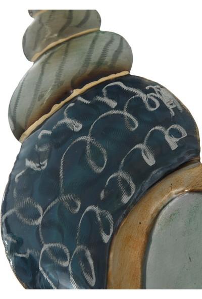 Vitale Pera Metal Sedefli Dekoratif Salyangoz