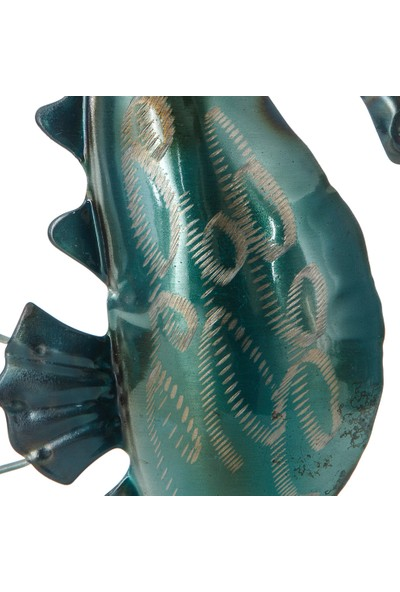 Vitale Pera Metal Sedefli Dekoratif Deniz Atı