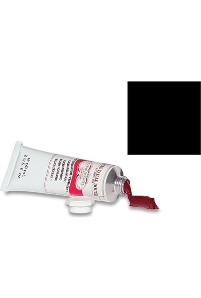 Charbonnel Gravür Boyası 60ml - 5598Black Noir