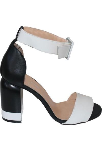Efem 6584-83 Deri Kadın Ayakkabı