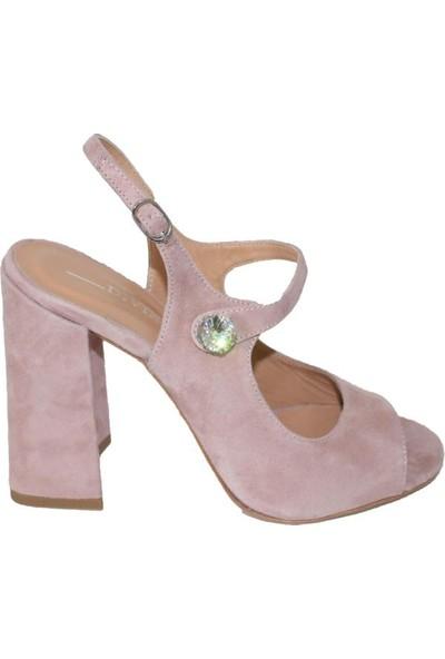 Efem 709-18 Süet Deri Kadın Ayakkabı