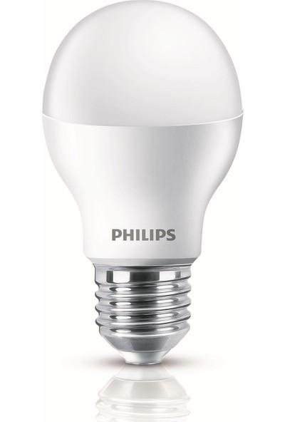 Philips ESS LEDBulb 8.5-60W E27 Normal Duy Sarı Işık 12'li Ekopaket