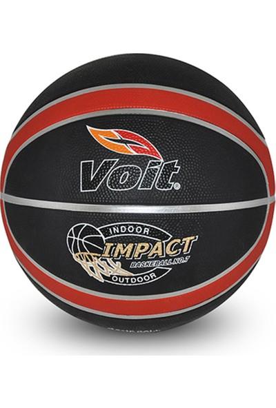 Voit İmpact Siyah-Kırmızı Basketbol Topu N7