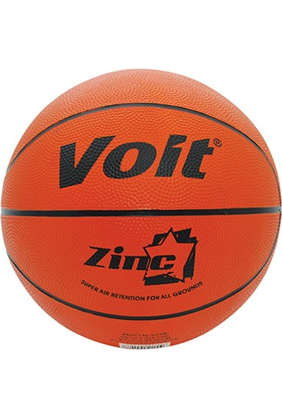 Voit Zinc Kauçuk Turuncu Basketbol Topu N3