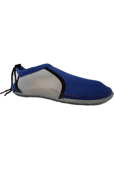 Hobi Store Mavi - Beyaz Fileli Deniz Ayakkabısı