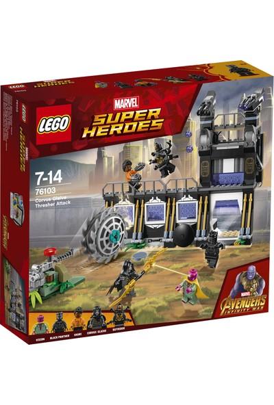 LEGO Super Heroes 76103 Corvus Glaive Fırlatıcı Saldırısı