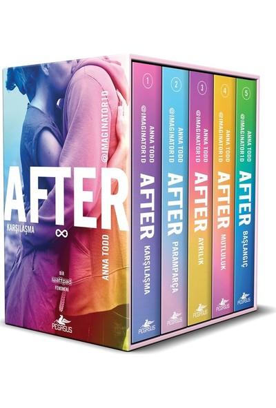 After Serisi Kutulu Özel Set (5 Kitap) - Anna Todd
