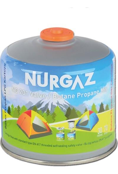 Nurgaz 450 grm Vidalı Kartuş