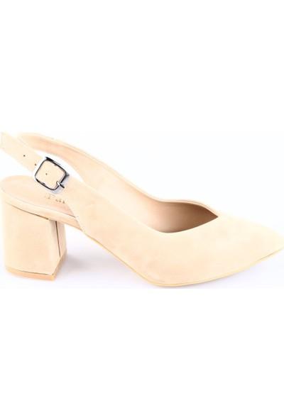 Park Moda K700 Bayan Kısa Topuklu Sivri Burun Ayakkabı