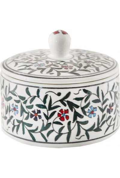 Quartz Ceramics El Yapımı Seramik Kutu