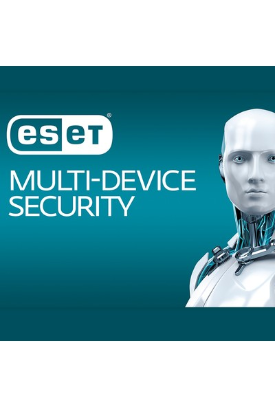 Eset Multi Device Security Pack 2018 / 3 Cihaz 3 Yıl Dijital Lisans