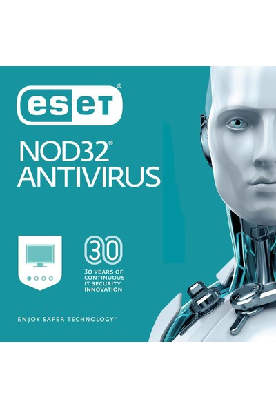 Eset NOD32 Antivirus 2018 V.11 / 10 Kullanıcı 1 Yıl Dijital Lisans