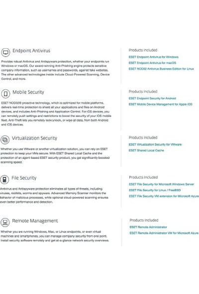 Eset Endpoint Protection Standard 2018 / 1+5 Kullanıcı 3 Yıl Dijital Lisans
