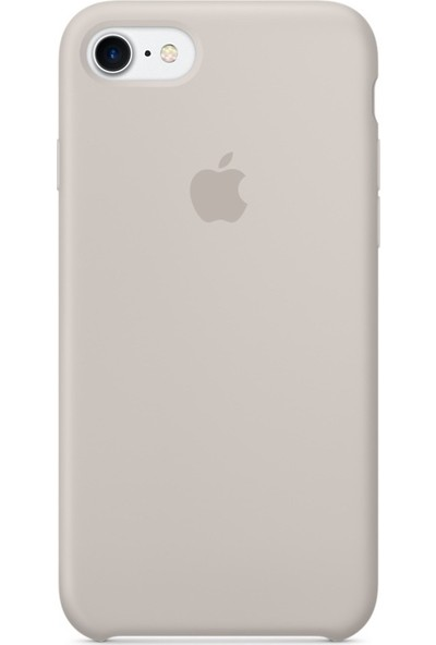 Deer Case Apple iPhone 7 Silikon Kılıf Kauçuk Arka Kapak