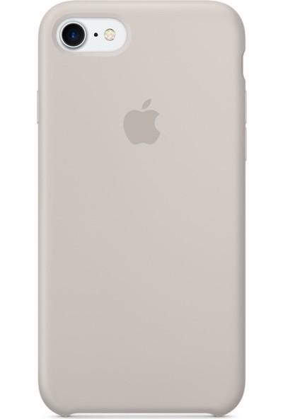 Deer Case Apple iPhone 8 Silikon Kılıf Kauçuk Arka Kapak