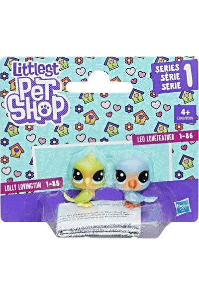 Little Pet Shop 2'li Küçük Miniş Kuşlar B9389-C3009