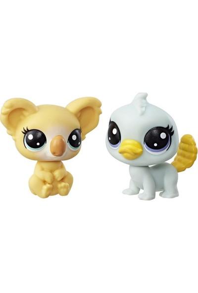 Little Pet Shop 2'li Küçük Miniş Ornitorenk ve Koala B9389-C3010