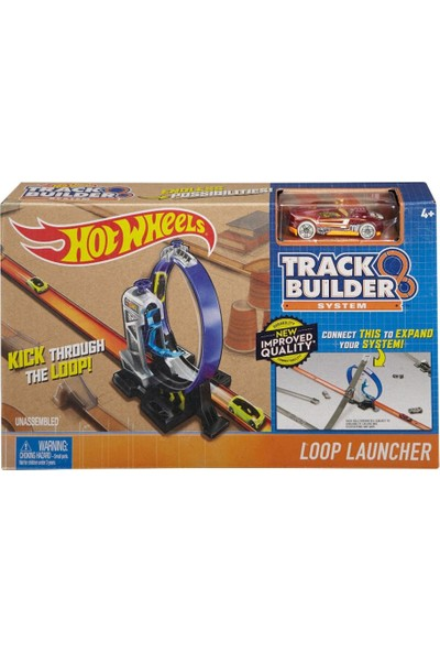 Hot Wheels Track Builder Seti DNH84-DMH51