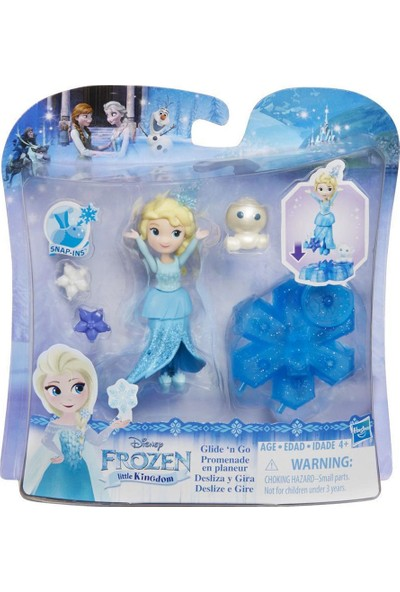 Disney Frozen Little Kingdom Prenses Ve Kızağı B9249-B9873
