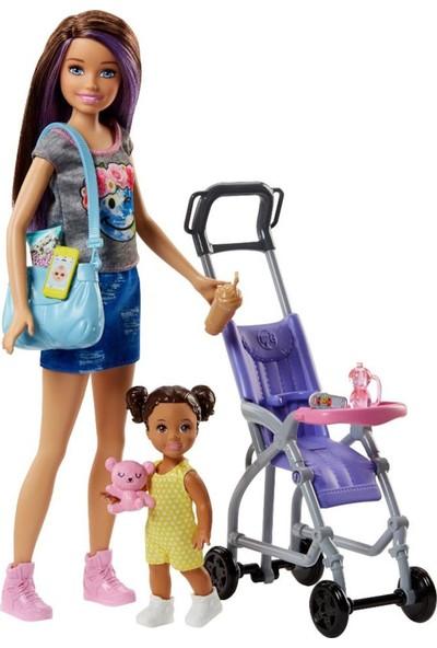 Barbie Bebek Bakıcılığı Oyun Seti FHY97-FJB00