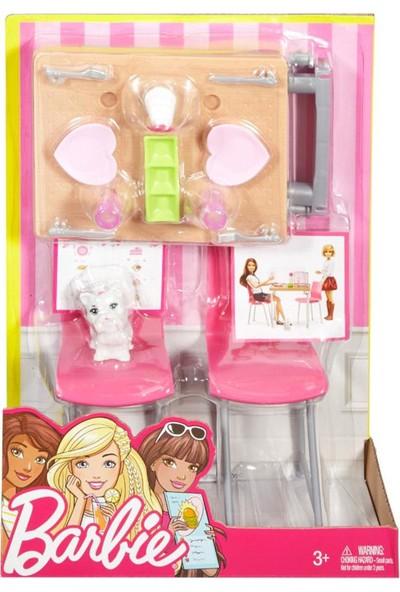 Barbie Ev İçi Dekorasyon Oyun Seti DVX44-DVX45