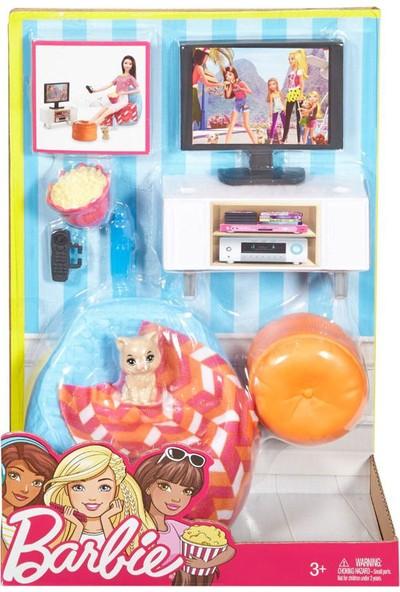 Barbie Ev İçi Dekorasyon Oyun Seti DVX44-DVX46
