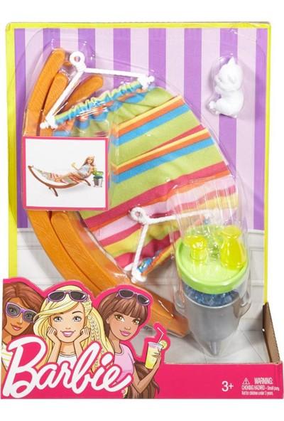 Barbie Açık Hava Dekorasyon Oyun Seti DXB69-DVX47