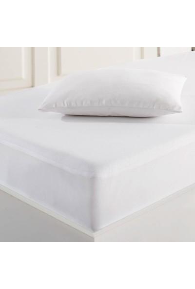 Marie Claire Bebek Sıvı Geçirmez Yastık Alezi 35X45 Cm Cycas Beyaz