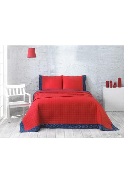Marie Claire Çift Kişilik Yatak Örtüsü Takımı Jolly Kırmızı
