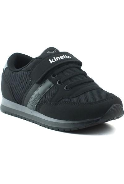 Kinetix Siyah Çocuk Ayakkabısı 7P Payof Siyah Gri
