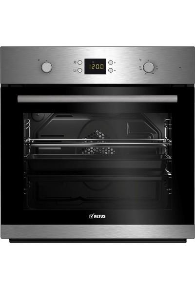Altus ALA-137 I LCD Ekranlı 7 Fonksiyonlu Cam Ankastre Fırın Siyah