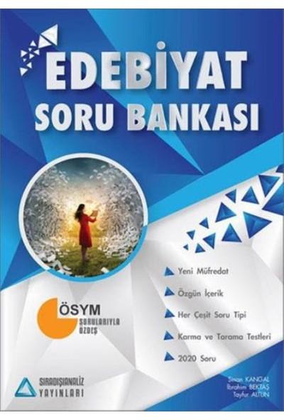 Sıradışıanaliz Edebiyat Soru Bankası - Sinan Kangal