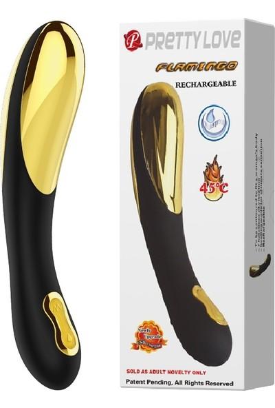 Pretty Love Titreşimli Sıcaklık Ayarlı Şarjlı G-Spot Teknolojik Vibratör