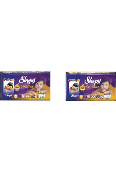 Sleepy Sensitive Ekominik Paket 2 no. 2 Adet 34lü 3-6 Kg