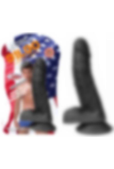 Xise Zenci Et Dokusu Süper Realistik Vibratör Penis Dildo 21Cm