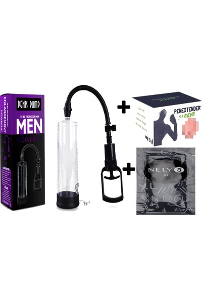 Lovetoy Penis Pump Pompası + Suni Vajina Başlık + Xl Penis Ve Pompa Kremi