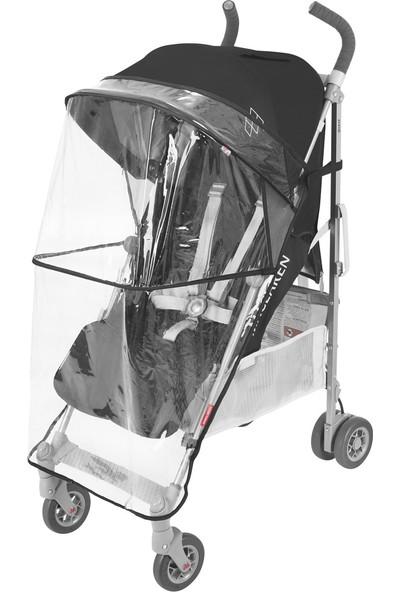 Maclaren Quest Baston Bebek Arabası Black Silver