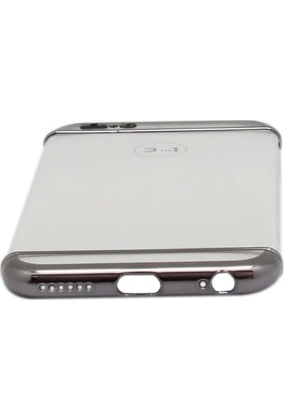 Vorson VP 001 iPhone 6/6S Plus 3in1 Şeffaf Kılıf