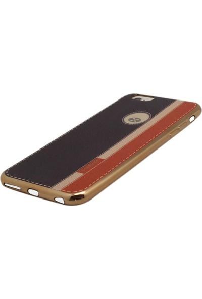 Vorson VP 004 iPhone 6/6S Plus Tpu Üç Renk Dikişli Kılıf