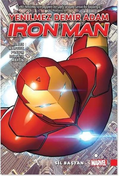 Marvel Comics Ironman Yenilmez Demir Adam Cilt 1-Sil Baştan