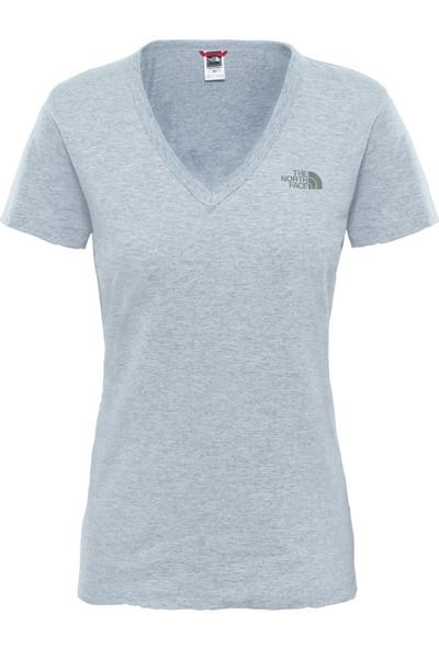 The North Face W S/S Simple Dom Tee Kadın Tişört