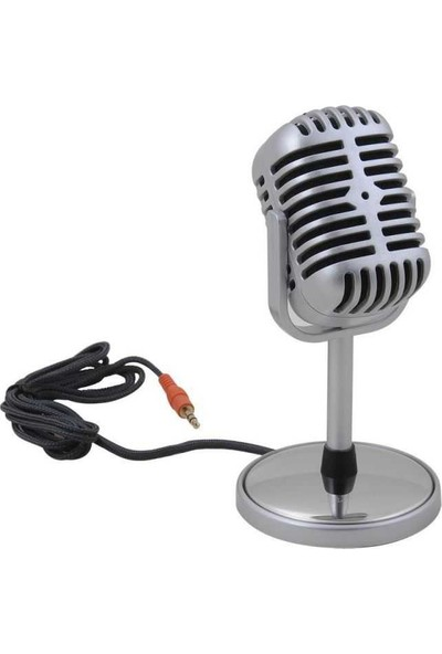 Platoon Nostalji Karaoke Mikrofonu Pc Uyumlu Şık Tasarım Pl2471