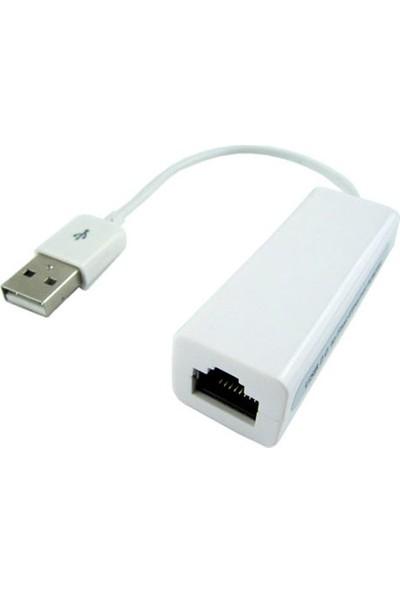 Whitecom Usb Ethernet Kartı Kablolu Lan Ethernet Card Çevirici Dönüştürücü