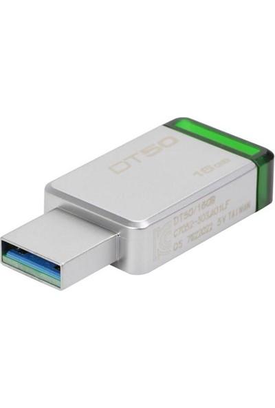 Kingston Flash Bellek 16 GB DT50